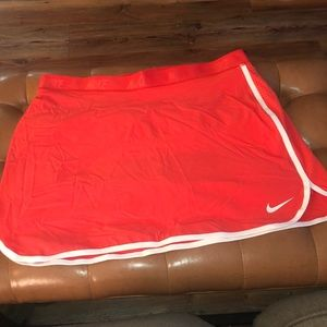 Nike Golf Dri-Fit Red/Orange w/ white trim Large